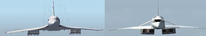 Tupolev TU-144 vs Concorde