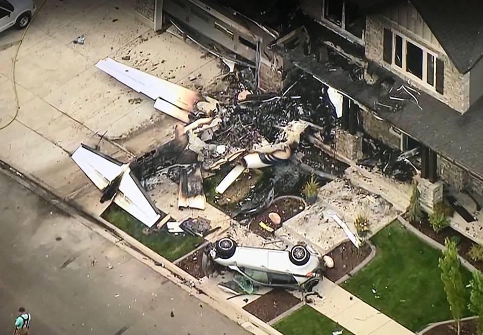 Se suicida otro piloto en EEUU estrellándose contra su propia casa