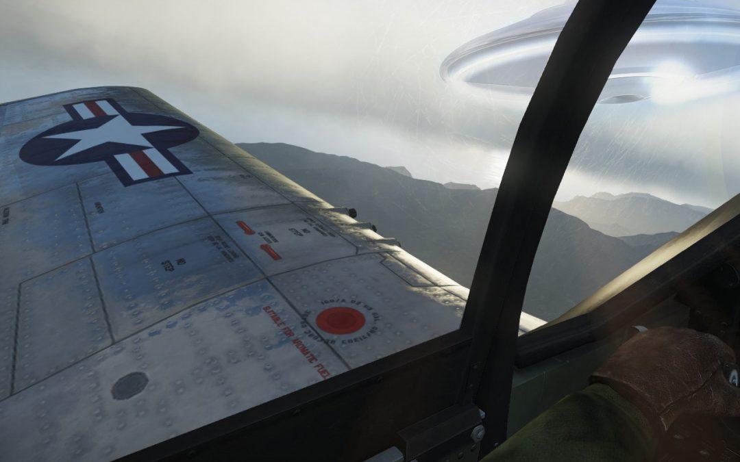 Desvelan extraño combate aéreo entre piloto y OVNI durante la IIWW