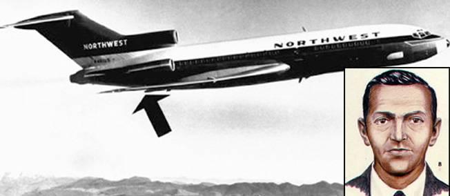 D.B. Cooper: El secuestrador del vuelo 305 de NOA que desapareció en pleno vuelo