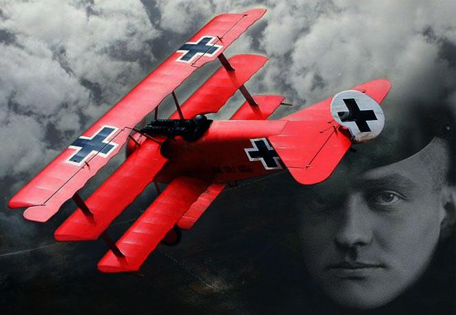 100 años de la Gran Guerra: Un gran héroe lleno de misterio. Manfred von Richthofen