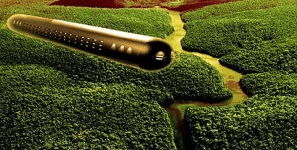 Un dron graba un OVNI tras despegar desde una montaña en La Rioja, España
