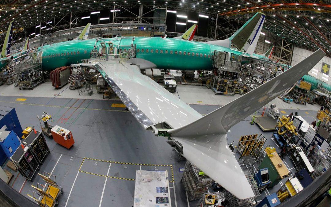 Parte del ala de los Boeing 737 MAX y Boeing 737 NG fue fabricada con defectos.