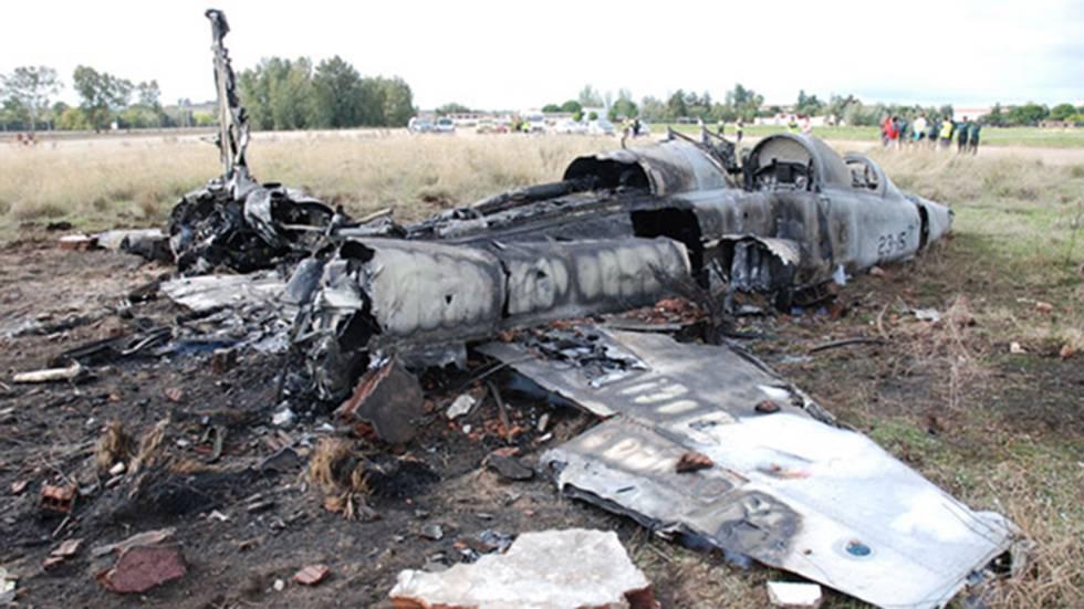 Una jueza militar descubre los fallos en la formación de pilotos tras el accidente del F-5 de Talavera.