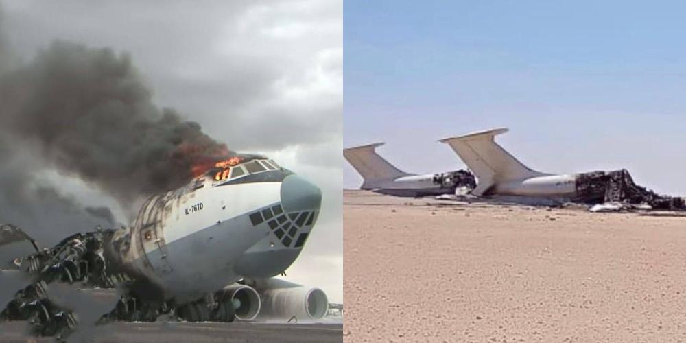 Drones libios atacan dos lIyushin Il-76 de Europe Air y asesinan a uno de sus Comandantes
