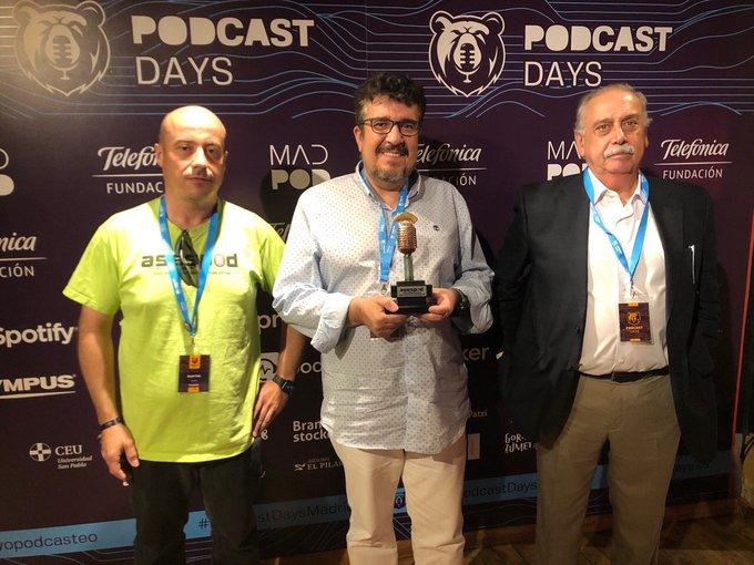 «DEX, Días Extraños» de Santiago Camacho, elegido mejor podcast del 2019