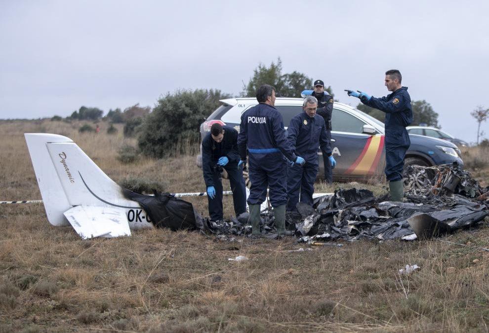 El avión accidentado y hallado en 2018 en Valdecebro fue robado 8 meses antes en Alemania
