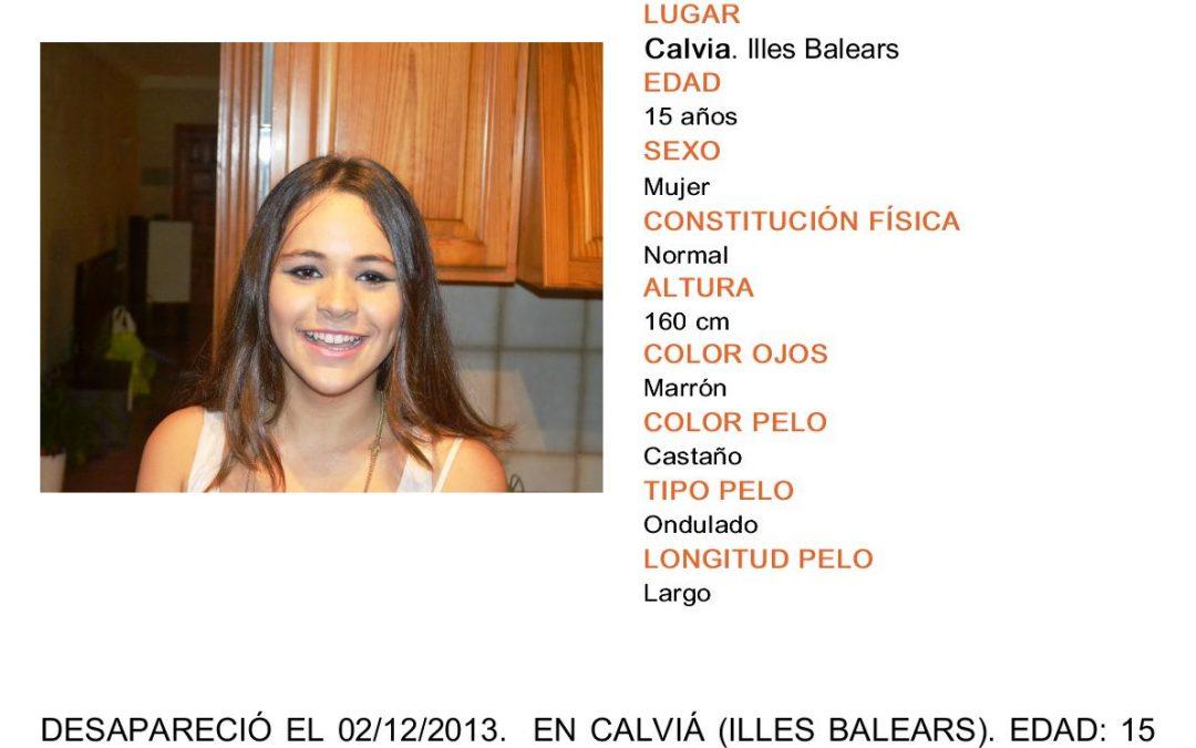 Desaparecida en Calviá, Mallorca: Se busca a Malén Zoe Ortiz Rodríguez