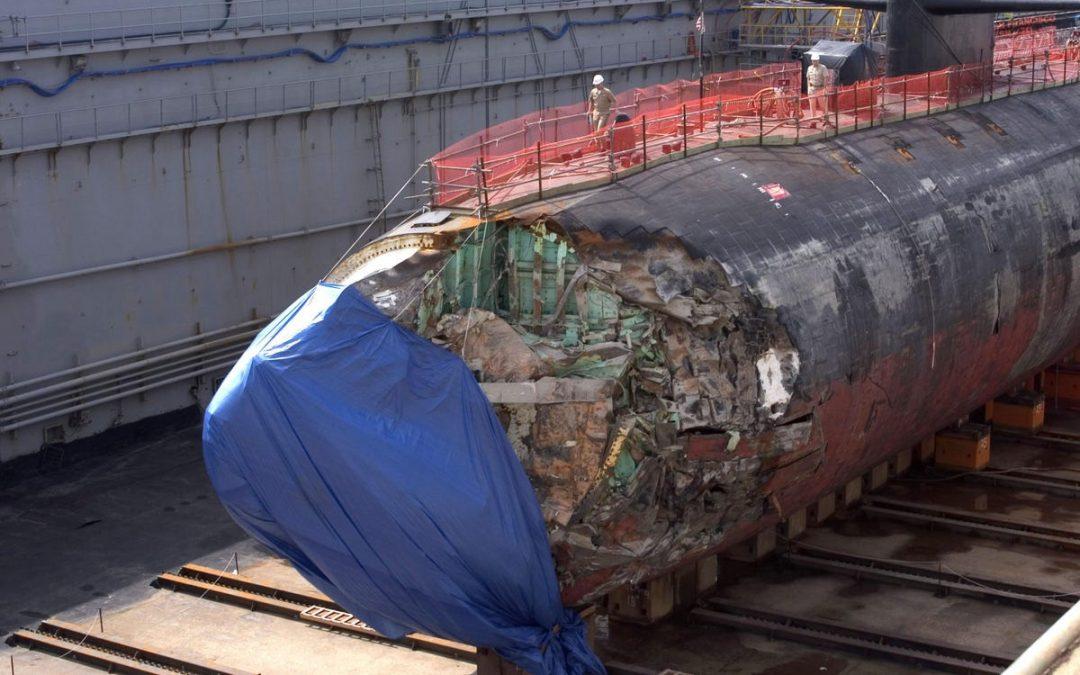 Posible colisión del «USS Connecticut» con OSNI en el Mar de China