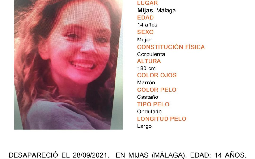 Desaparecida en Mijas: Sarah Michelle Chantalle Sargerhausen. LOCALIZADA